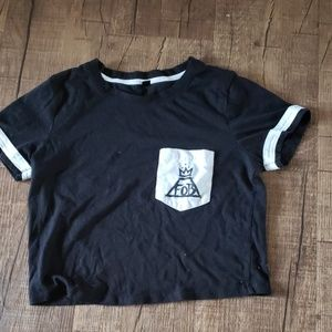 Fall Out Boy Crop Top